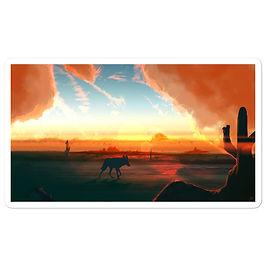 """Stickers """"Sound of Desert"""" by JoeyJazz"""