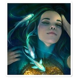 """Stickers """"Water Dreams"""" by ElenaDudina"""
