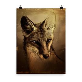 """Poster """"Fuchs"""" by Culpeo-Fox"""