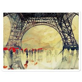"""Stickers """"Winter in Paris"""" by Takmaj"""
