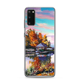 """Samsung Case """"Near the Pond"""" by Gudzart"""