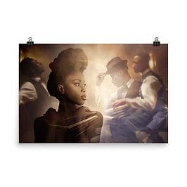 "Poster ""The Speakeasy"" by phatpuppyart-studios"