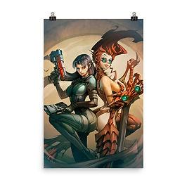 """Poster """"Fantasy and Sci-Fi"""" by el-grimlock"""