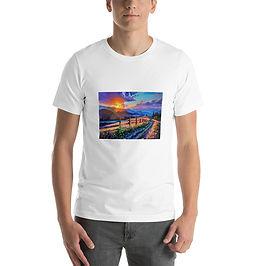 """T-Shirt """"Evening Sun"""" by Gudzart"""