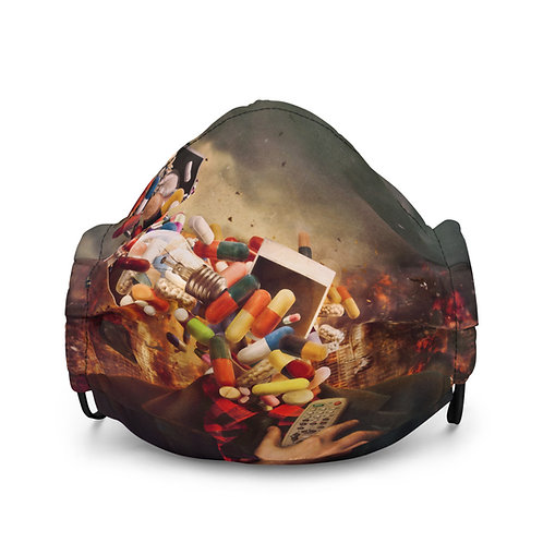 "Mask ""Comfortably Numb"" by Aegis-Illustration"