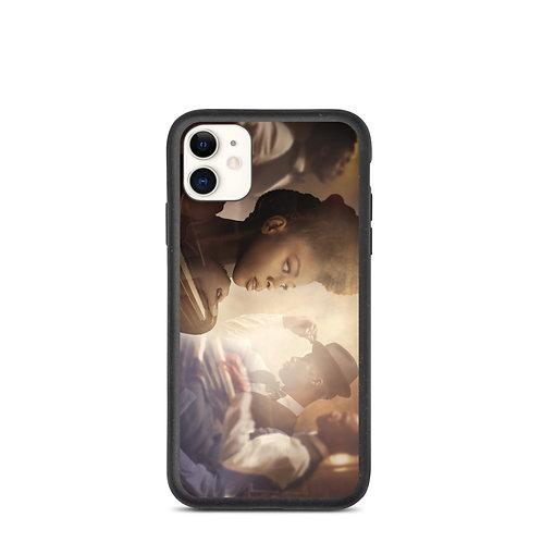 """iPhone case """"The Speakeasy"""" by phatpuppyart-studios"""