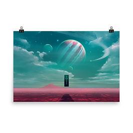 "Poster ""Among the Stars"" by JoeyJazz"