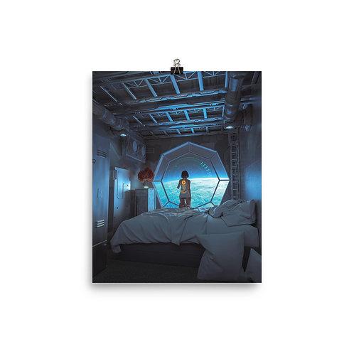 "Poster ""Nostalgia"" by thebakaarts"