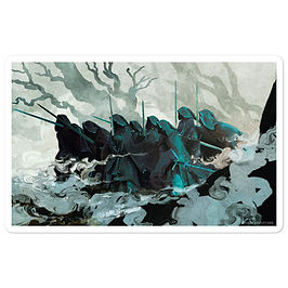 """Stickers """"The Nine"""" by Anatofinnstark"""