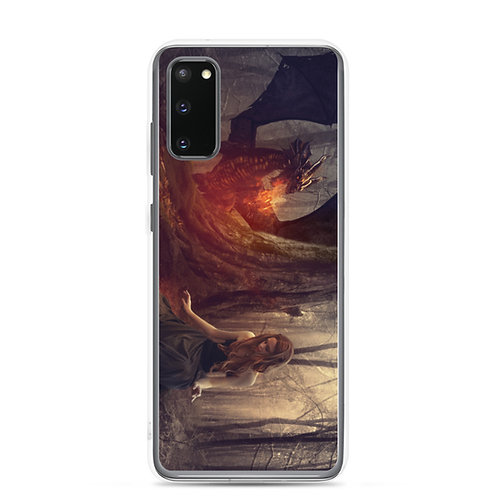 "Samsung Case ""The Dragon Tamer"" by phatpuppyart-studios"