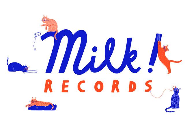 Logo Design for Milk! Records