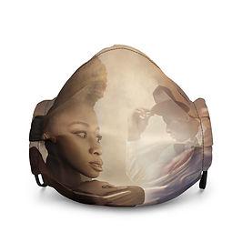 """Mask """"The Speakeasy"""" by phatpuppyart-studios"""