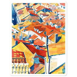 """Stickers """"Dubrovnik"""" by Takmaj"""