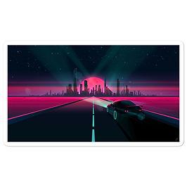 "Stickers ""Sunset Drive"" by JoeyJazz"