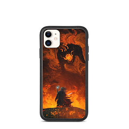 """iPhone case """"The Shadow and the Flame"""" by Anatofinnstark"""