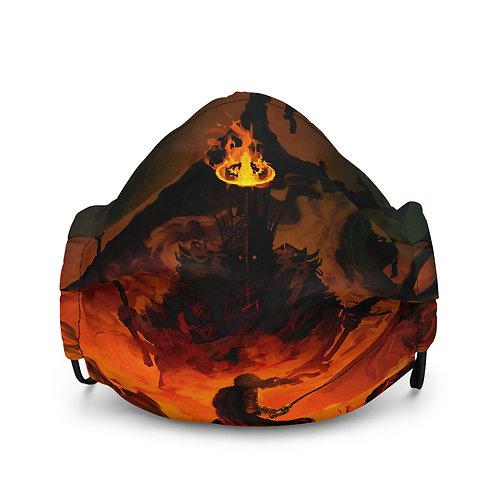 "Mask ""Eowyn Vs The Witch King"" by Anatofinnstark"
