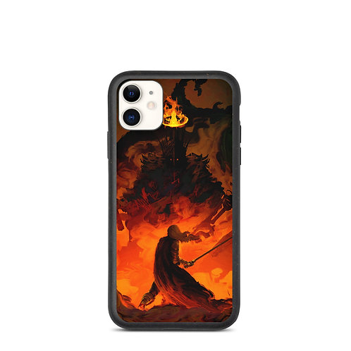 """iPhone case """"Eowyn Vs The Witch King"""" by Anatofinnstark"""