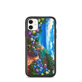 """iPhone case """"Azores Walk"""" by LauraZee"""