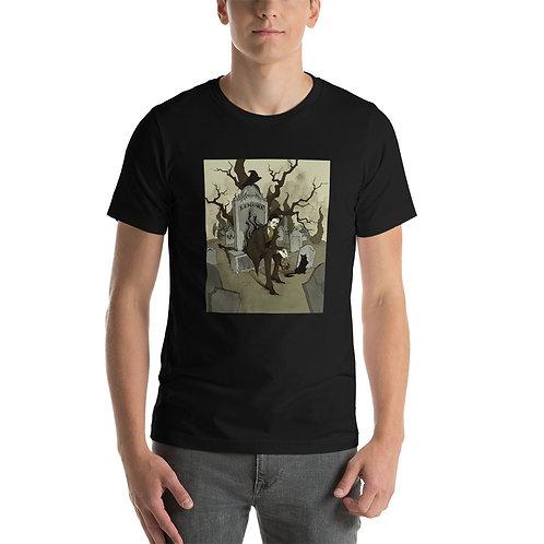 """T-Shirt """"Edgar Allen Poe"""" by AbigailLarson"""