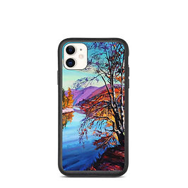 "iPhone case ""Near the Water"" by Gudzart"