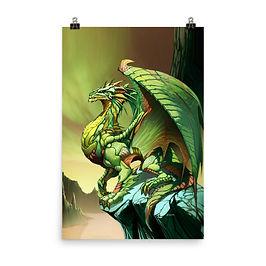 """Poster """"Esmeralda"""" by el-grimlock"""