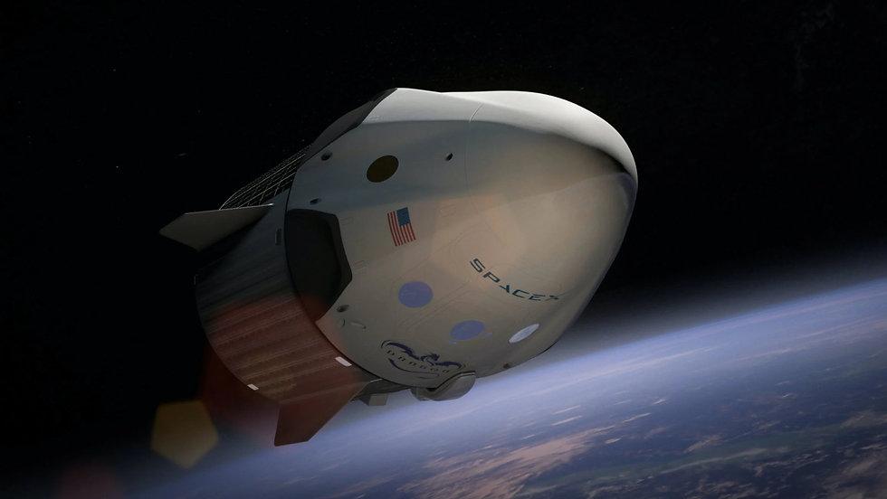חללית מעל כדור הארץ