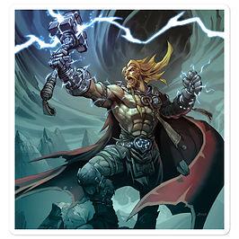 """Stickers """"Thor"""" by el-grimlock"""