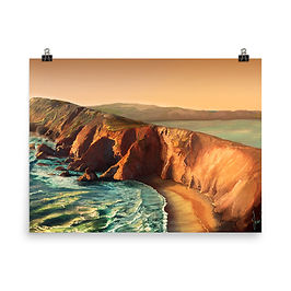 """Poster """"Tomales Point"""" by chateaugrief"""