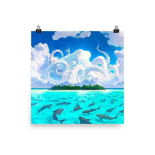 "Poster ""Dangerous Waters"" by RHADS"