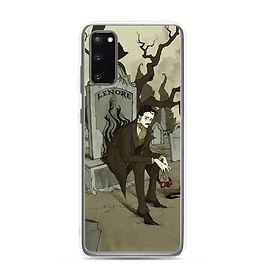 """Samsung Case """"Edgar Allen Poe"""" by AbigailLarson"""