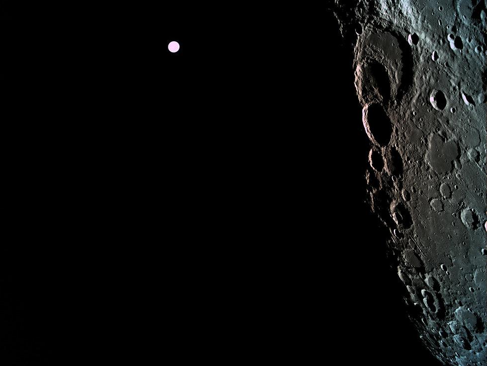 """תמונות ראשונות של הירח מ""""בראשית"""""""