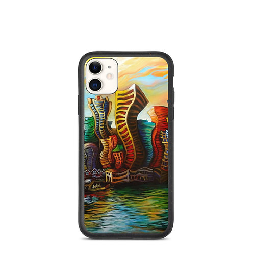 """iPhone case """"Vancouver Sunrise"""" by LauraZee"""