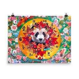 "Poster ""Four Seasons"" by phatpuppyart-studios"