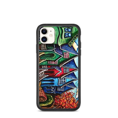 "iPhone case ""Kitsilano Neighbourhood"" by LauraZee"