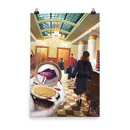 "Poster ""Grand International Hotel"" by JeffLeeJohnson"