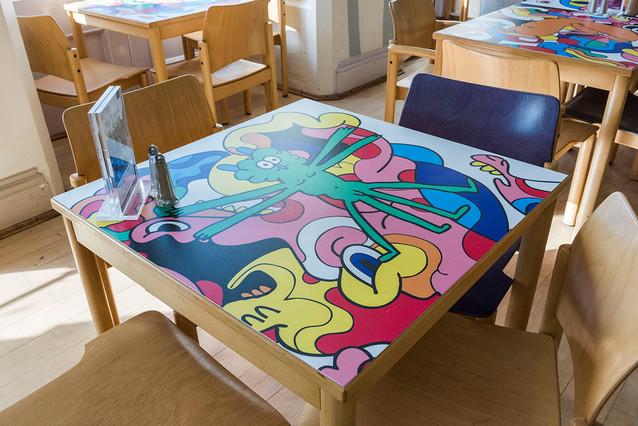 Nottingham castle table
