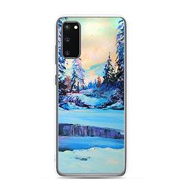 """Samsung Case """"Cold Winter"""" by Gudzart"""