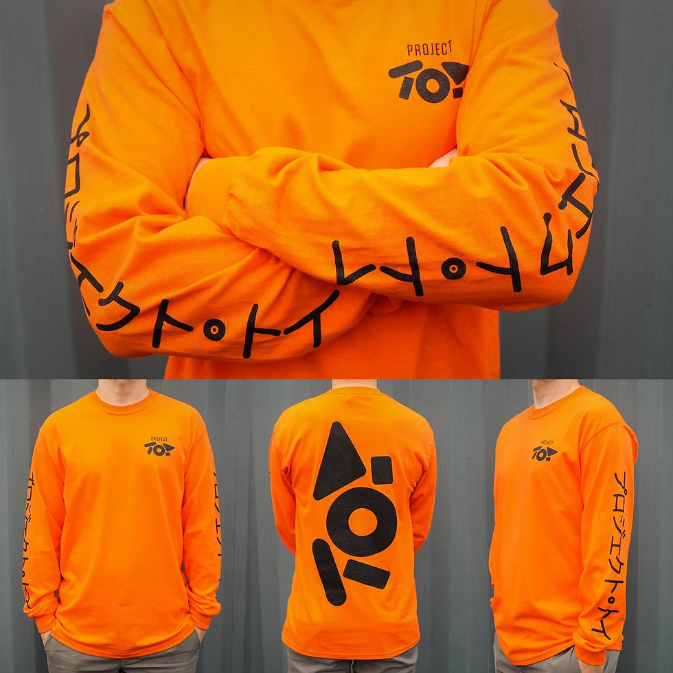 PROJECT TOY LONG SLEEVE T-SHIRT