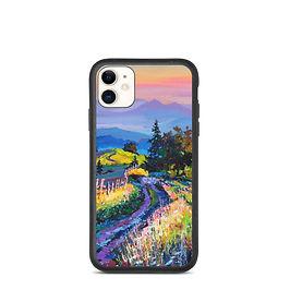 """iPhone case """"Quiet Evening"""" by Gudzart"""