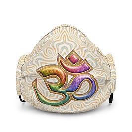 "Mask ""Sacred Sound Om Aum Mantra"" by Lilyas"