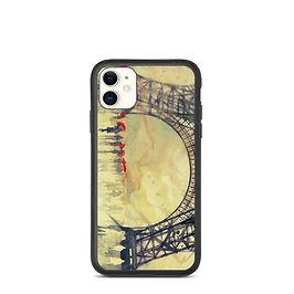 "iPhone case ""Winter in Paris"" by Takmaj"