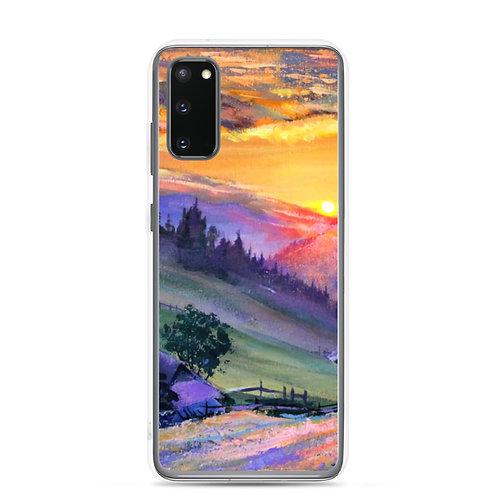 """Samsung Case """"Evening 4"""" by Gudzart"""