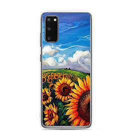 """Samsung Case """"Sunflower World"""" by LauraZee"""