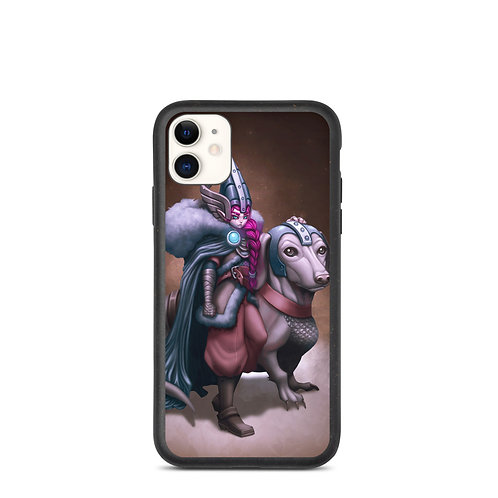 """iPhone case """"Viking Gnome and Warg Wiener"""" by DasGnomo"""