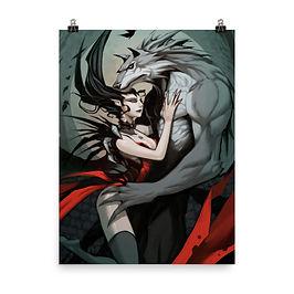 "Poster ""Wolf Vampire"" by el-grimlock"