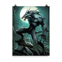 "Poster ""Werewolf"" by el-grimlock"