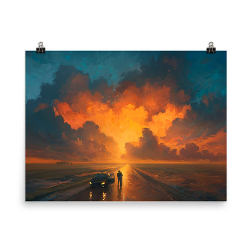"""Poster """"Performance of the Heavens"""" by RHADS"""