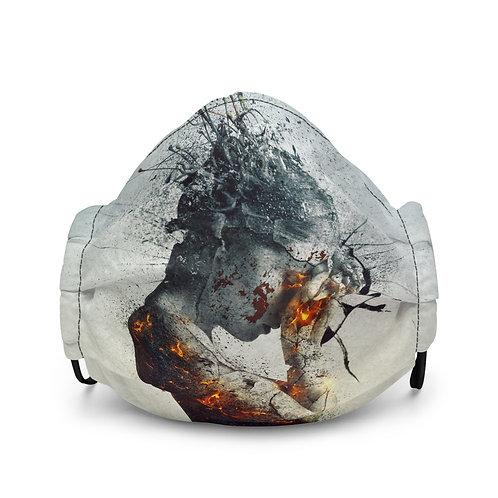 "Mask ""Deliberation"" by Aegis-Illustration"