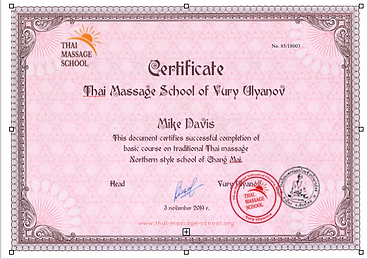 How to get a Thai Massage certificate?