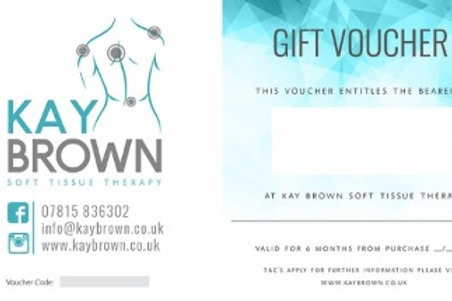 60 Minute Soft Tissue Therapy Voucher